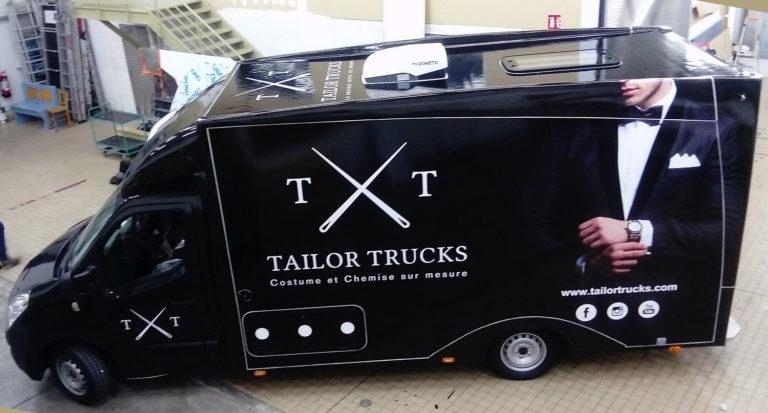 Marquage camion Tailor Trucks