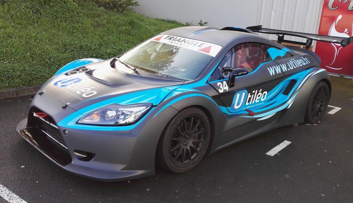 marquage voiture de course Le Mans