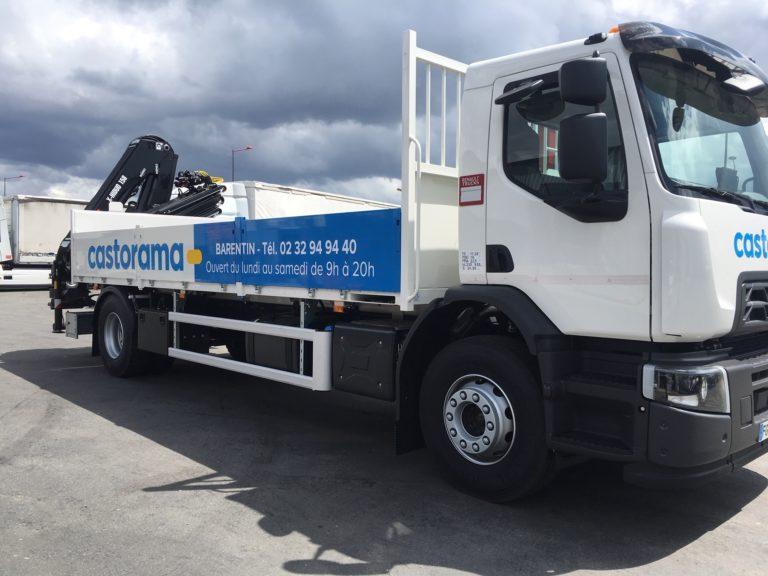 Camion Castorama