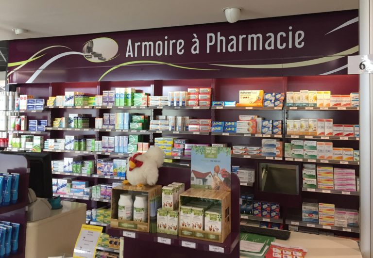 Rayon pharmacie