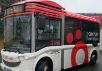 marquage véhicule en total covering sur bus Le Mans